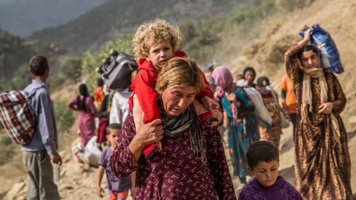 صورة مسيحيو سنجار مهاجرون على طريق نهاية وجودهم