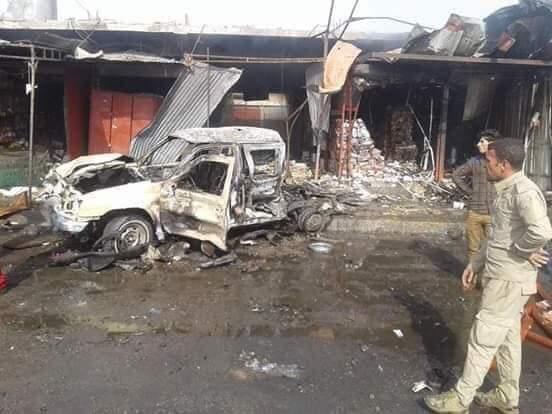 صورة من يقف وراء تفجير القيارة الذي قتل وأصاب العشرات