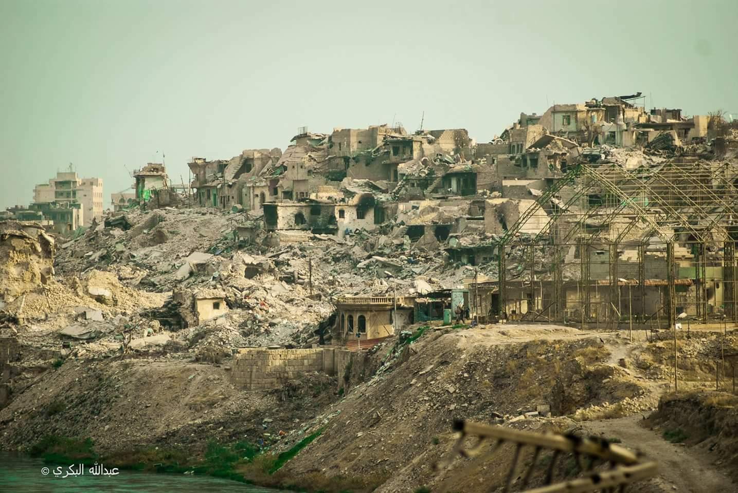 صورة النظرة الاولى من الموصل(الجزء الاول)