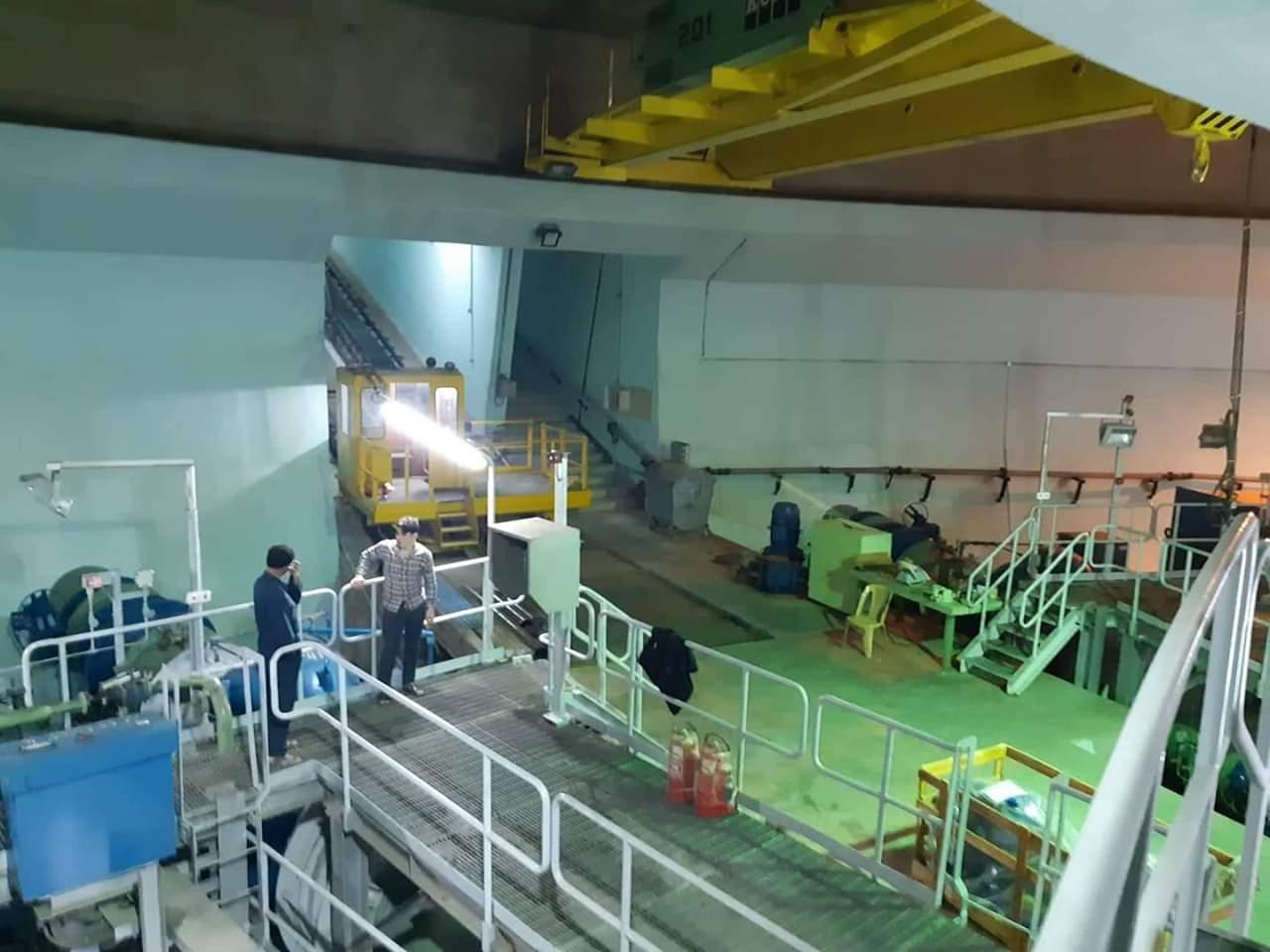 صورة محطة ضخ مشروع ري الجزيرة تعود للعمل