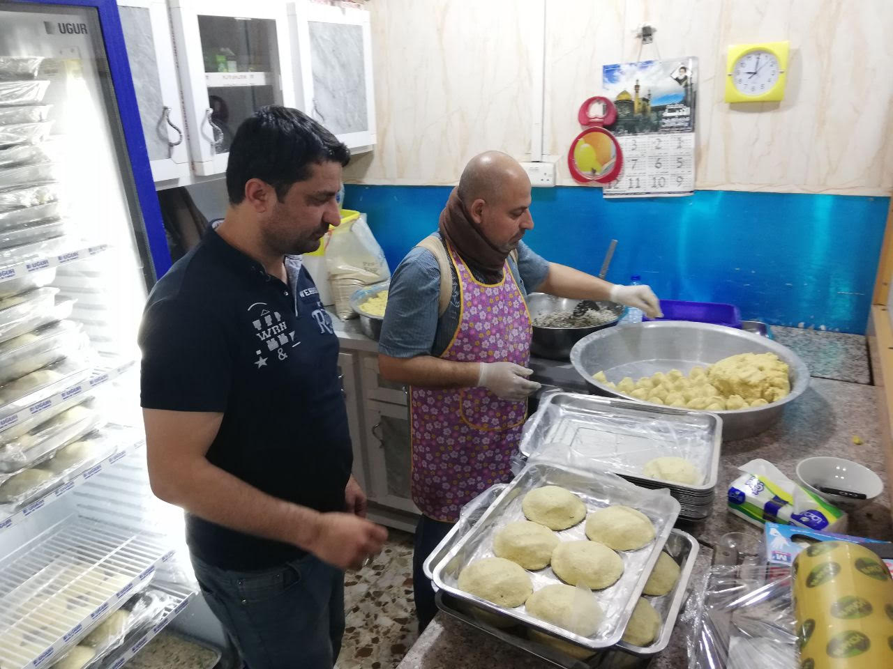 Photo of A Restaurant belonging to an IDP from Mosul  gets fame in Najaf