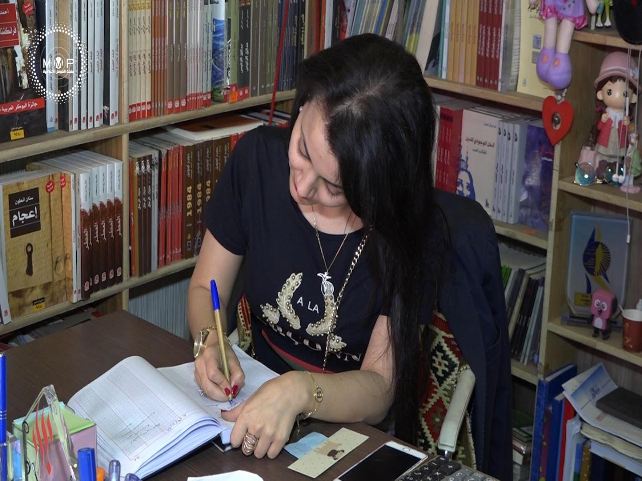 صورة عراقية بدأت ببيع الكتب في المتنبي وانتهت بتأسيس دار نشر