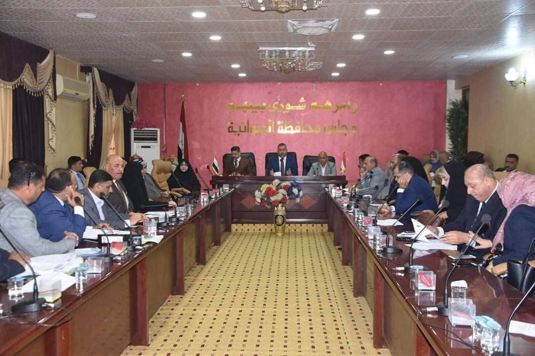 صورة الديوانية  أكثر المحافظات  العراقية استهلاكا للمحافظين