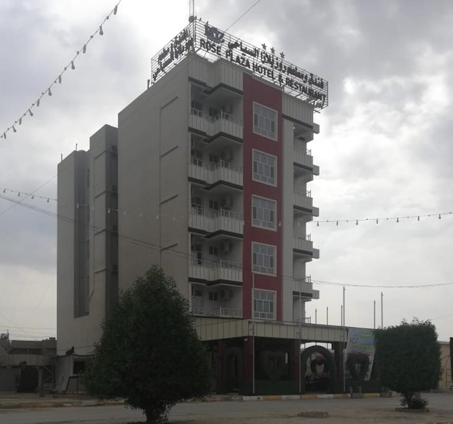 صورة انشاء اول فندق في مدينة الانبار