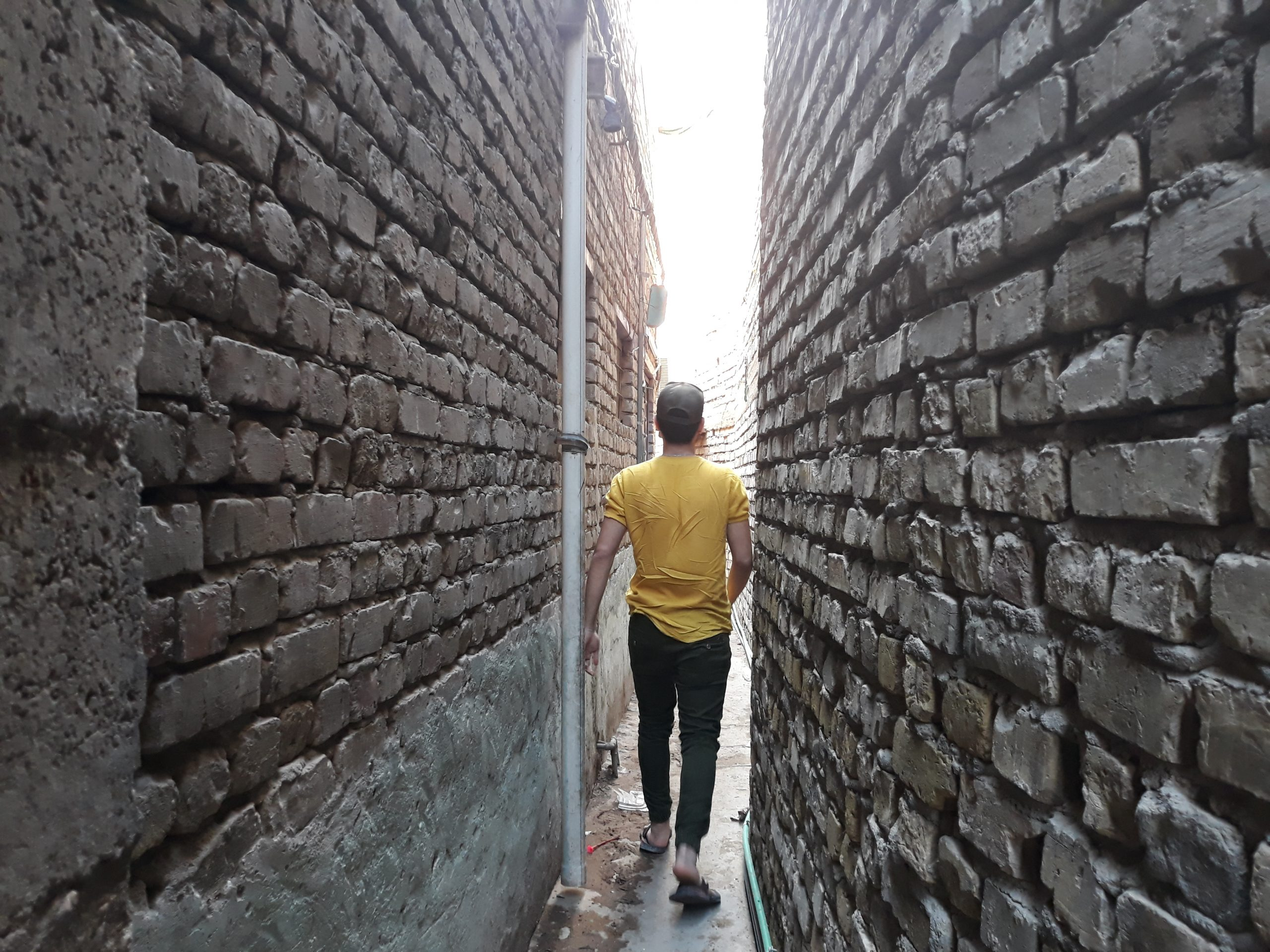 Photo of A Sense of Community on One of the World's Narrowest Streets
