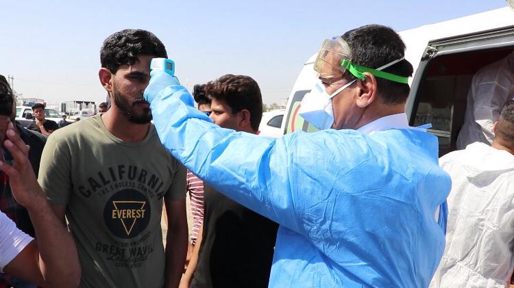 صورة موجة ثالثة تدق ناقوس الخطر في العراق