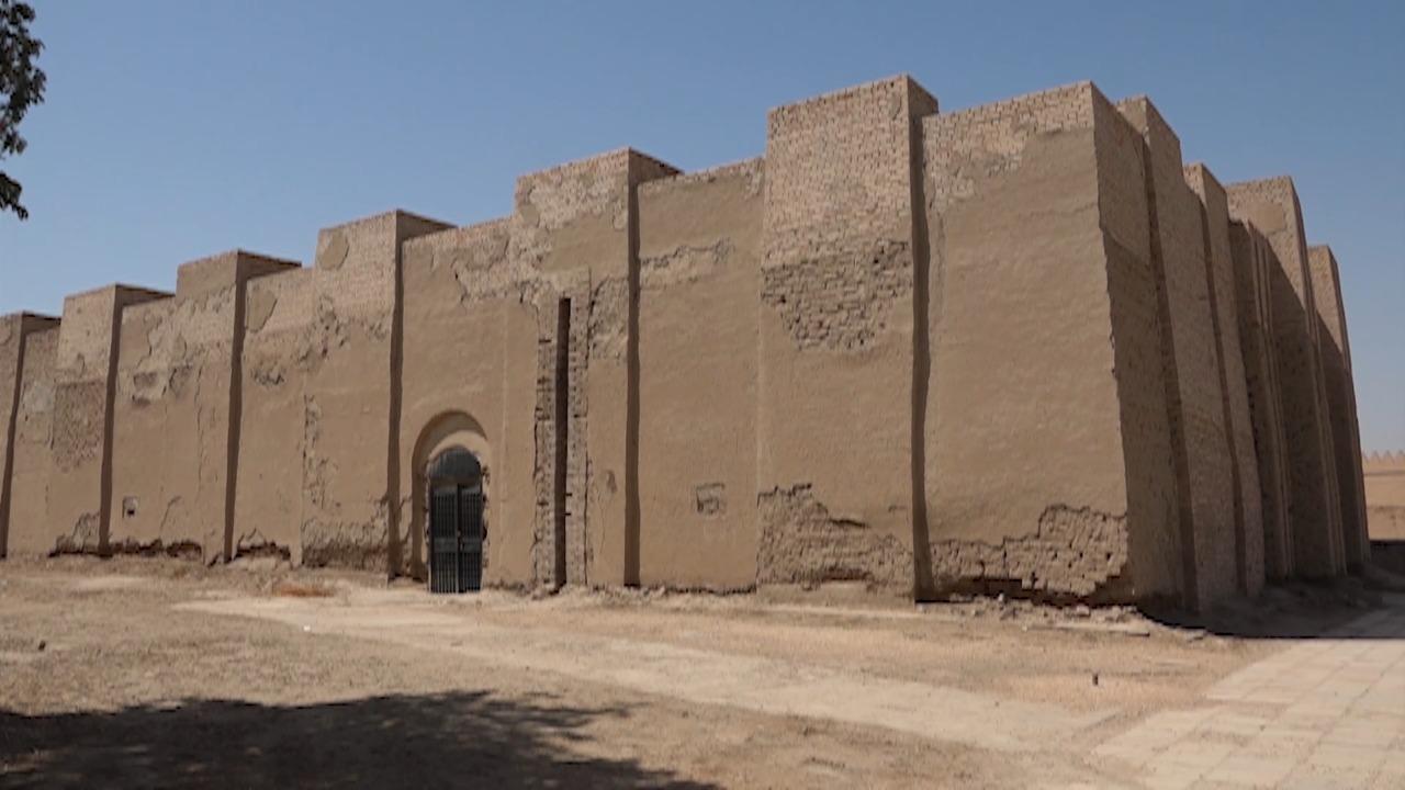 صورة معبد ننماخ اكتشفه الالمان ويقصده الهنود