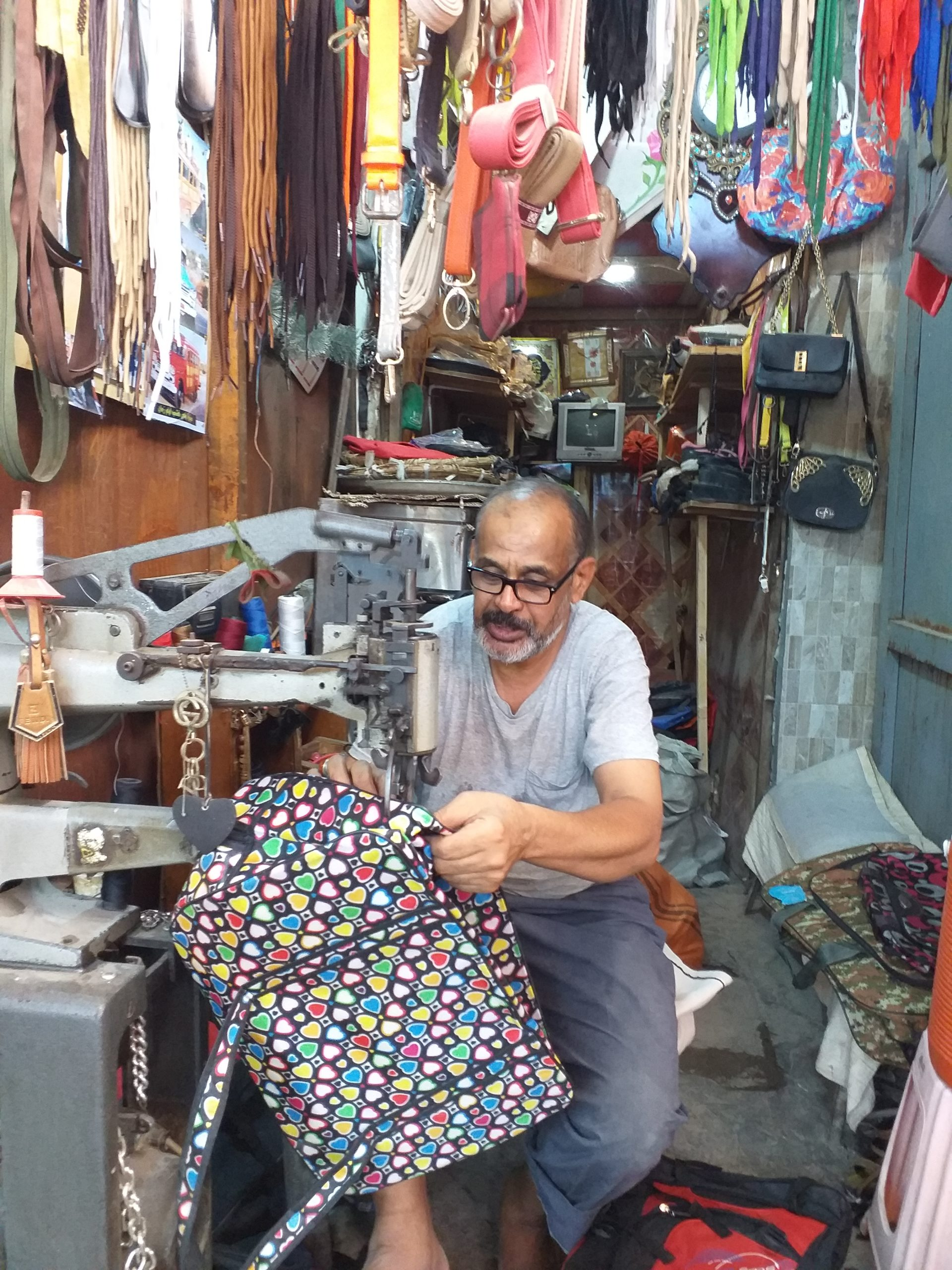 Photo of AN HONOURABLE TRADE: Why Basra's struggling shoemakers won't give up on the local leatherwares.