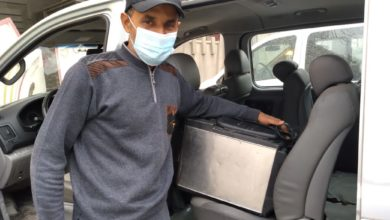 صورة شاب من الناصرية ينقذ حياة 50 مصاباً بكورونا من الفلوجة