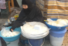 Photo of BASRA'S BREAKFAST MIRACLE WORKER: A seller of traditional 'geymar' cream reveals her recipes
