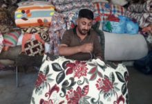 Photo of PUTTING PEOPLE TO SLEEP: The oldest upholsterer in Basra