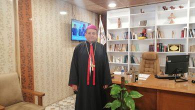"""صورة المطران دُردُر: زيارة البابا كانت """"فسحة أمل"""" لمسيحيي ومسلمي البصرة"""
