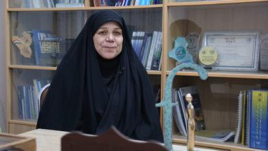 صورة فاطمة البهادلي سيدة بصرية حصلت على جائزة دولية